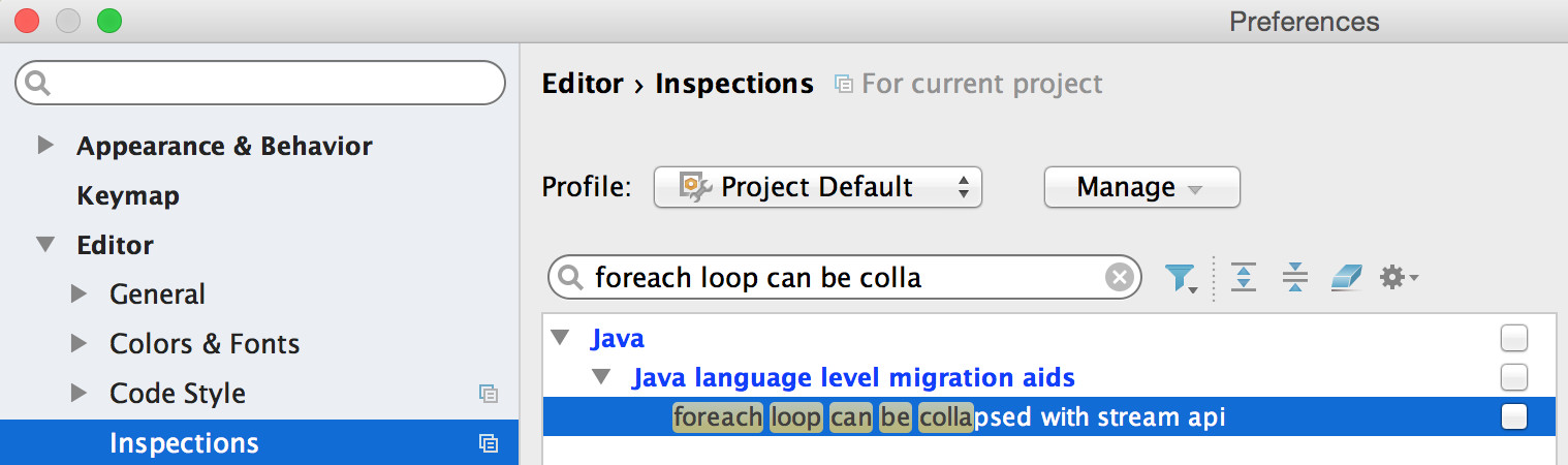 Android Studio Inspections